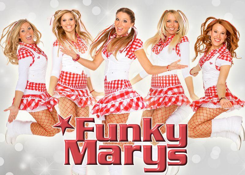 Funky Marys in Kerkrade tijdens Colonia i Kirchroa
